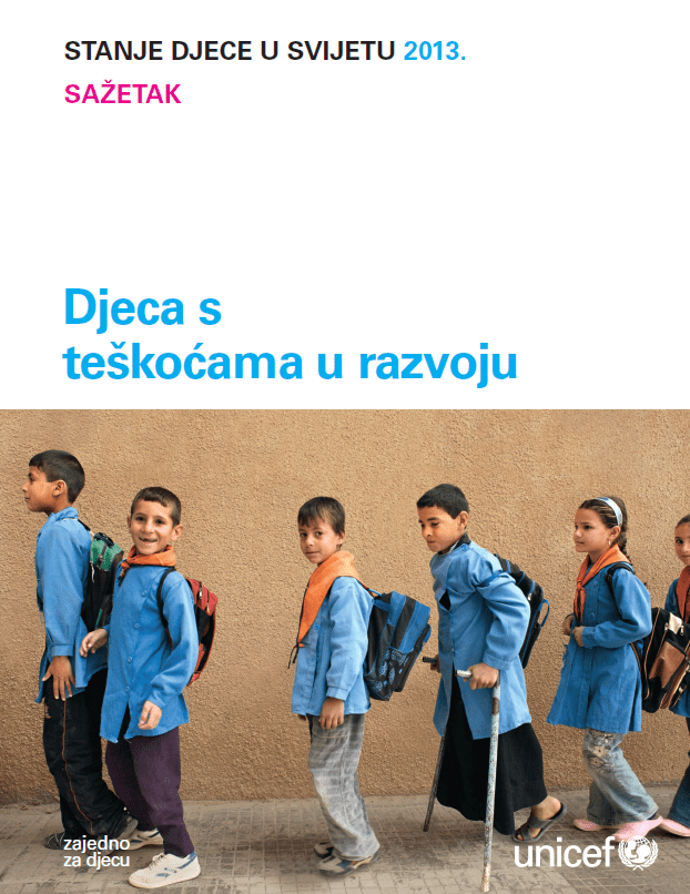 Sažetak Izvještaja o djeci s teškoćama u razvoju (2013.)