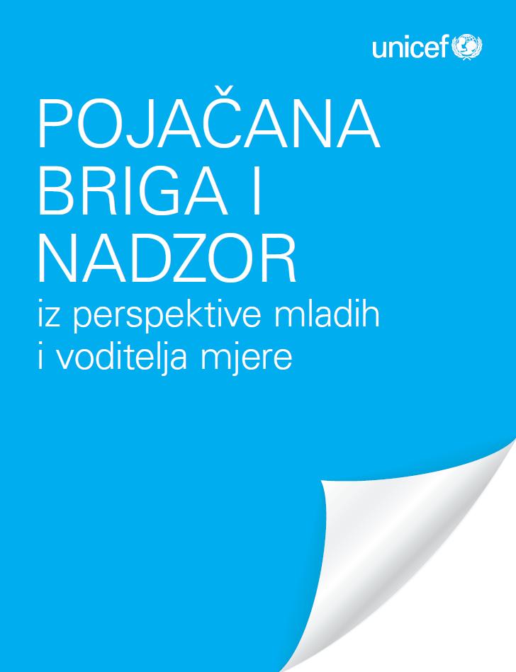 Pojačana briga i nadzor iz perspektive mladih i voditelja mjere (2014.)