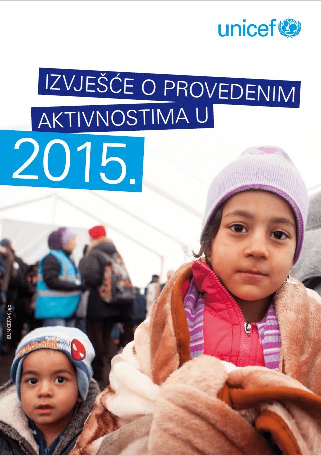 Izvješće o provedenim aktivnostima u 2015.