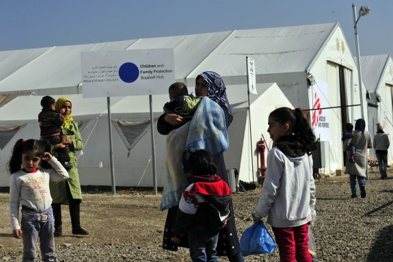 UNHCR i UNICEF pokrenuli Plave točke – centre za bolju zaštitu djece i obitelji na njihovom putovanju kroz Europu