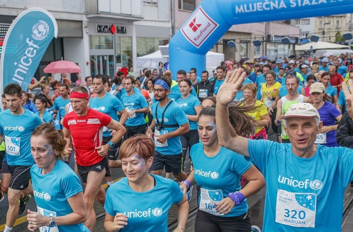 2,000 people took part in the run for the first Croatian human milk bank