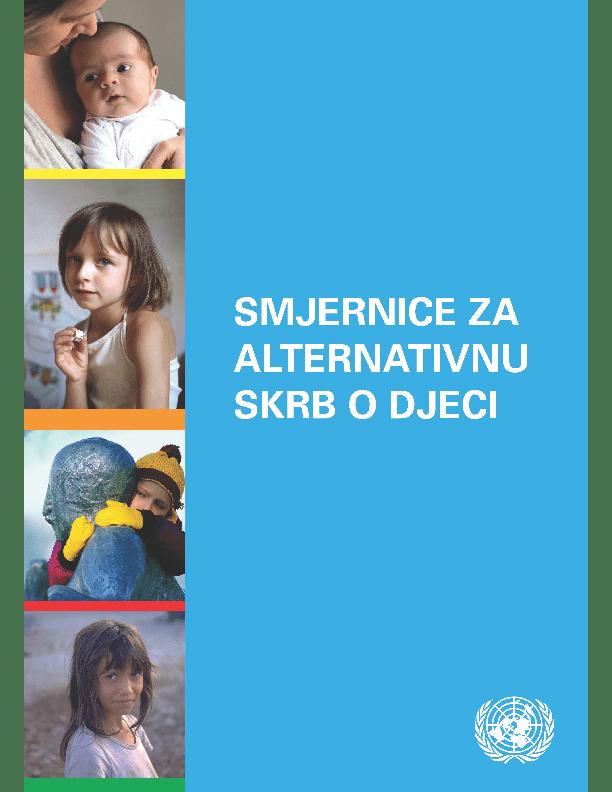 Smjernice za alternativnu skrb o djeci (2010.)