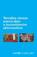 Temeljne obveze prema djeci u humanitarnim aktivnostima