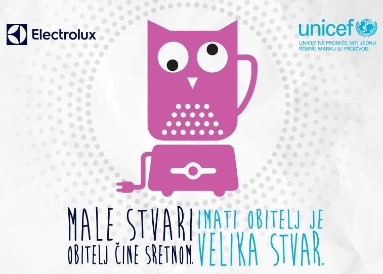 Electrolux i UNICEF zajedno za razvoj udomiteljstva