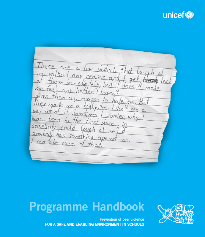 Programme Handbook - For a safe and enabling environment in schools (2015.)
