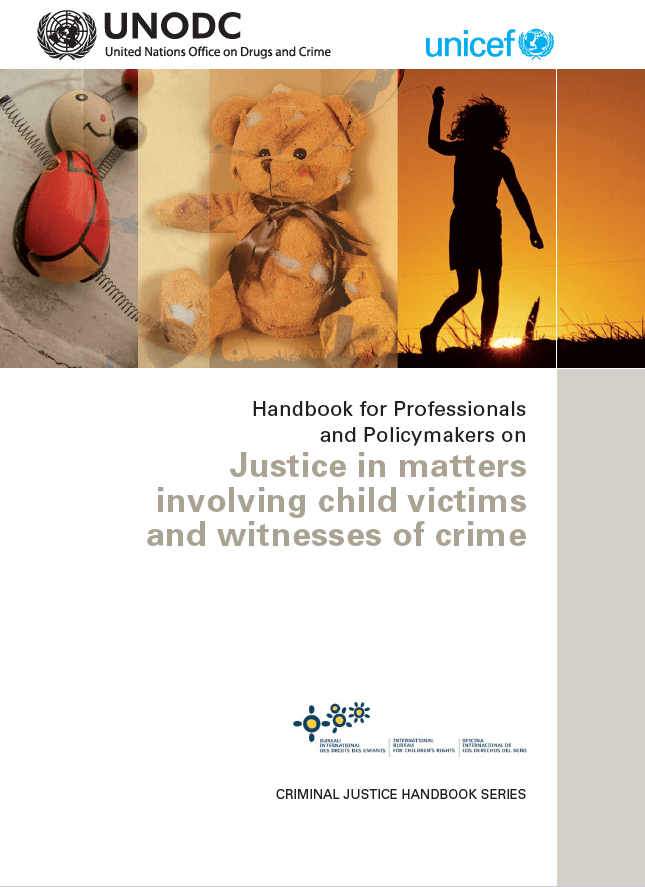 Justice in matters involving child victims and witnesses of crime (2009.)