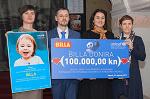 Trgovački lanac BILLA donirao 100 tisuća kuna UNICEF-u za projekt potpomognute komunikacije za djecu s teškoćama