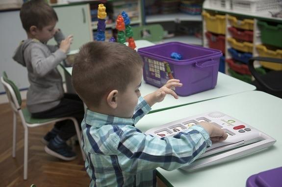 Djeca u vrtiću Centra za autizam u Zagrebu