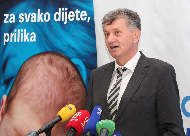 Ministar zdravstva prof. dr. sc. Milan Kujundžić